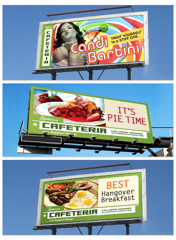 Cafeteria Billboards