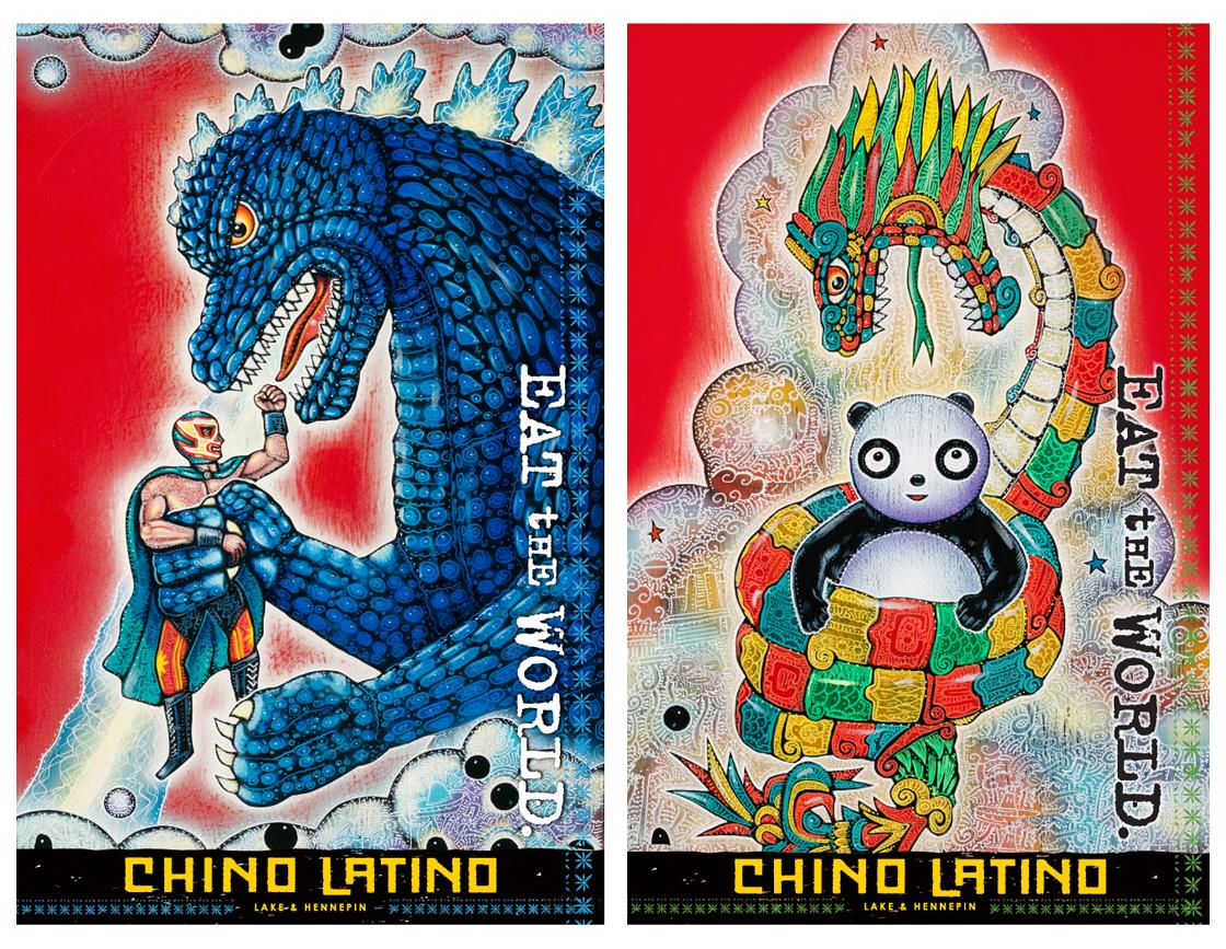Chino Latino Menus