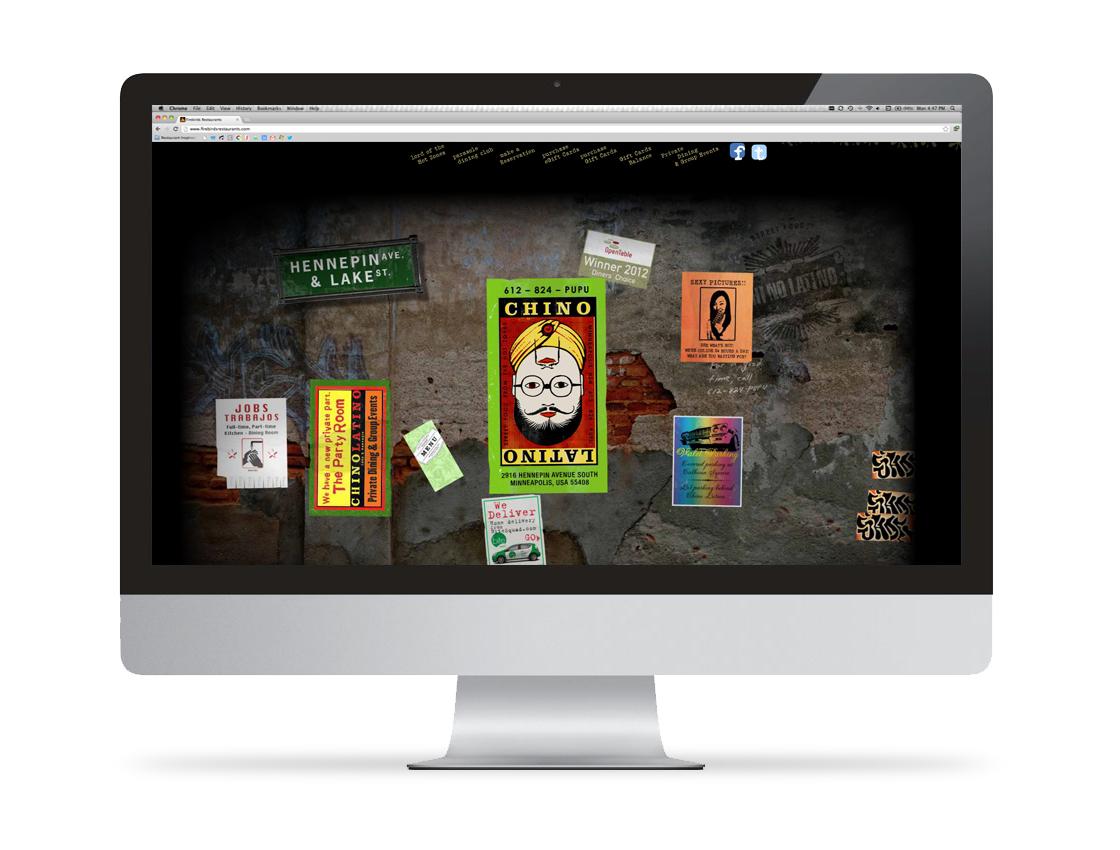 Chino Latino Website