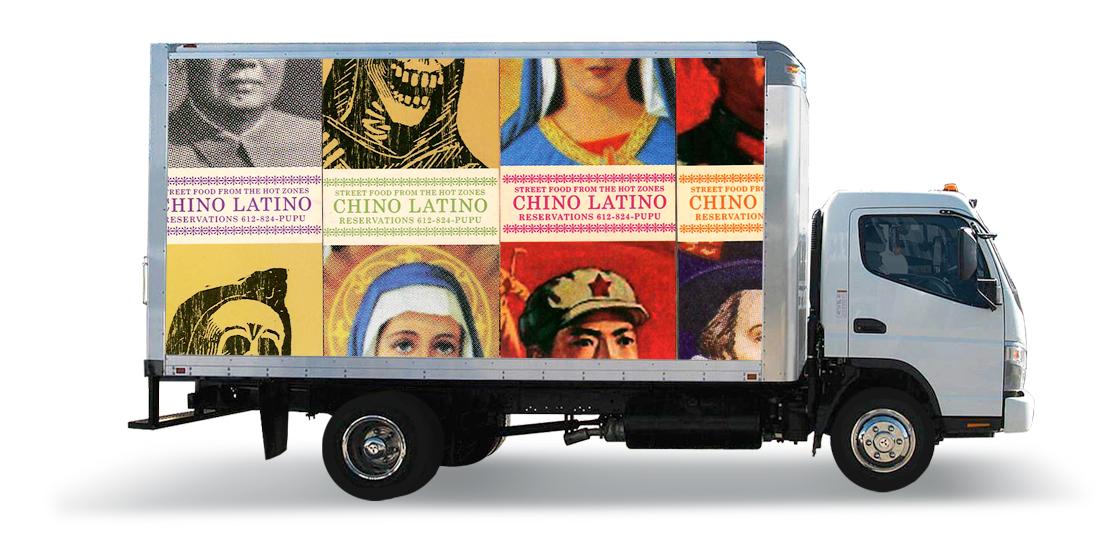Chino Latino Truck Ad
