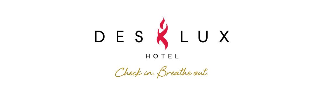 DesLux Logo and Tagline: