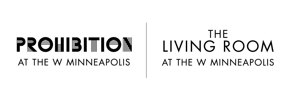 The Living room and Prohibition Logos