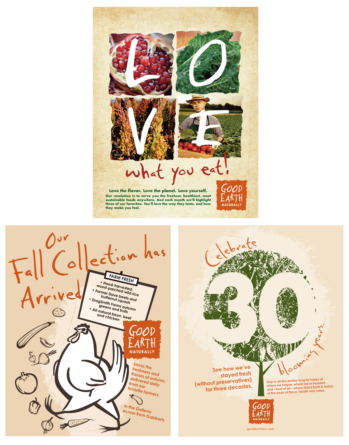 Good Earth Posters