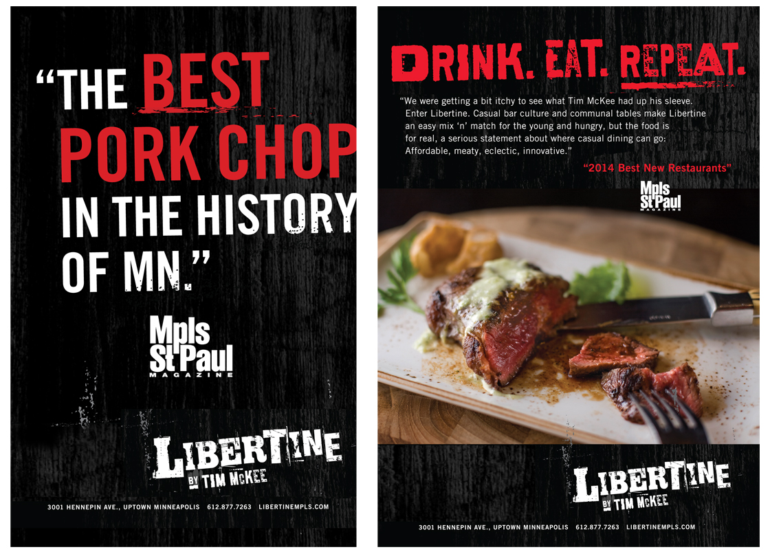 Libertine Pork Chop Ad