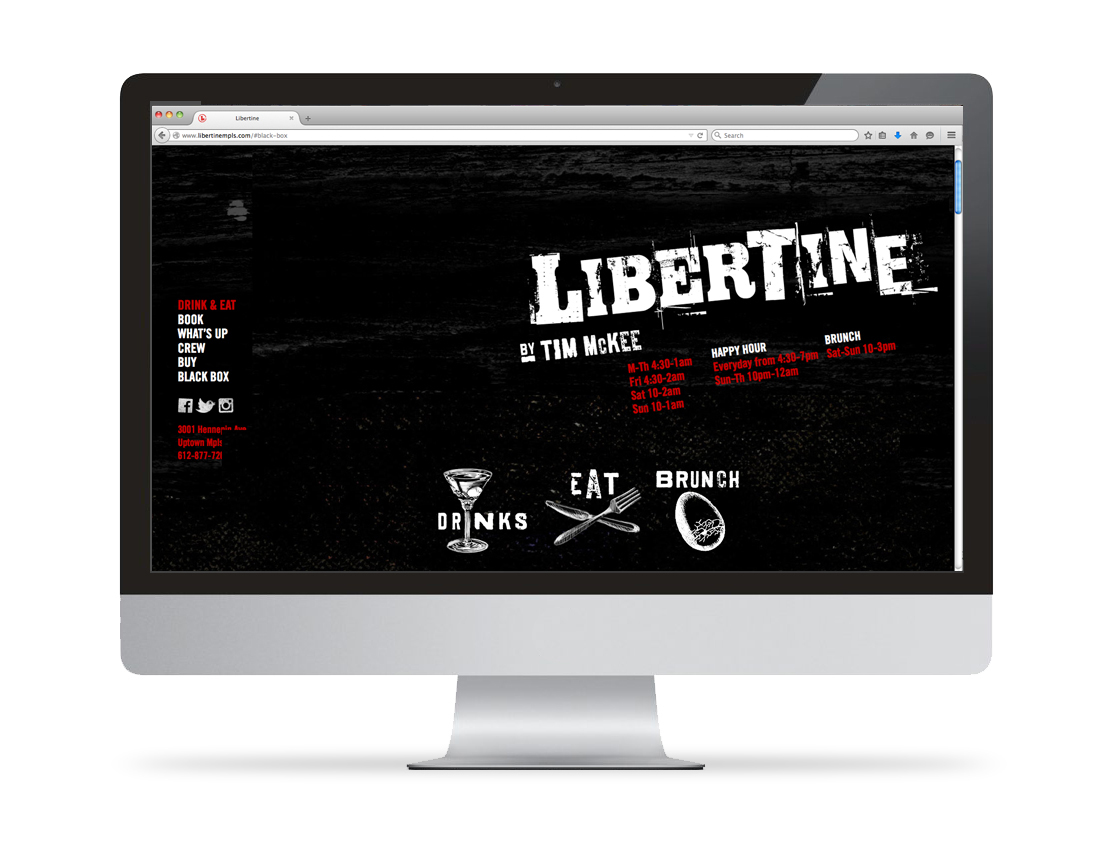 Libertine Website