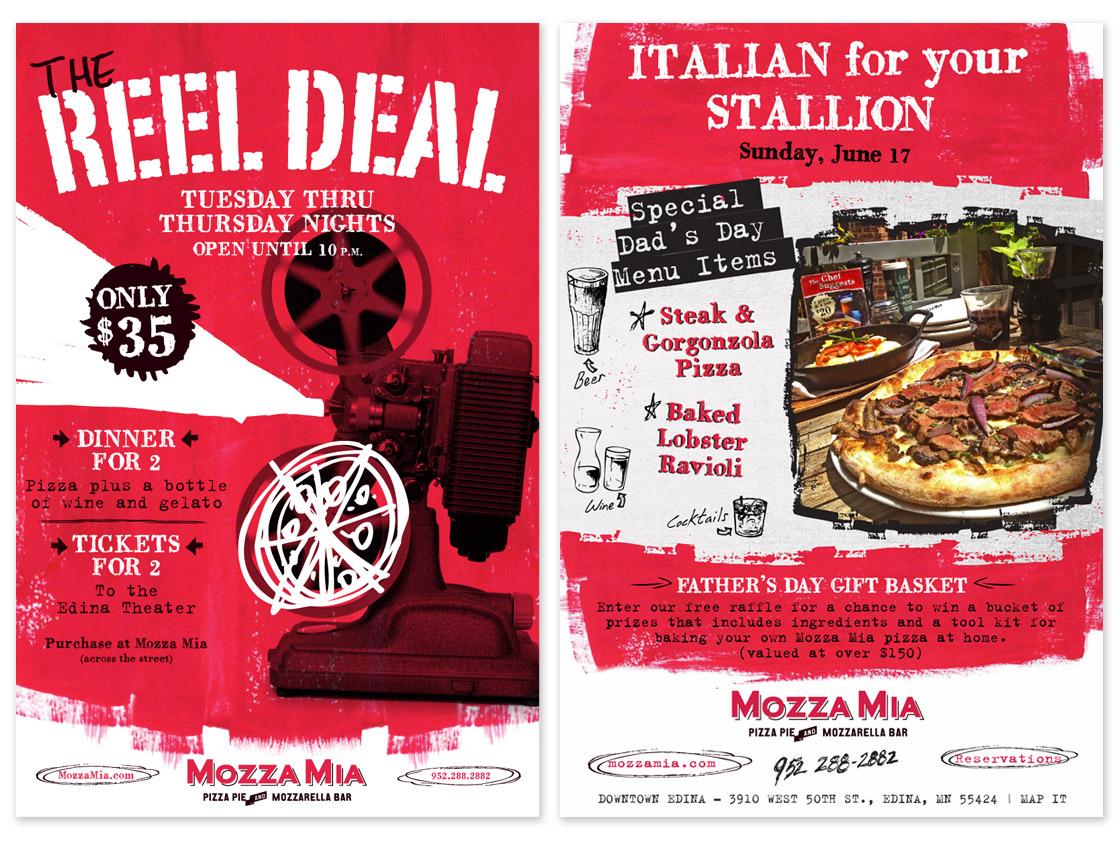 Mozza Mia Posters