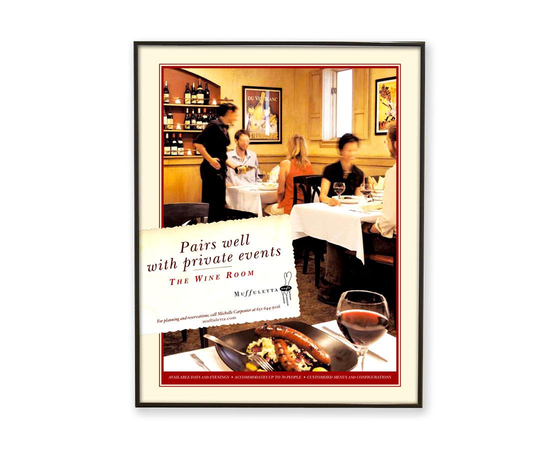 Muffuletta Poster