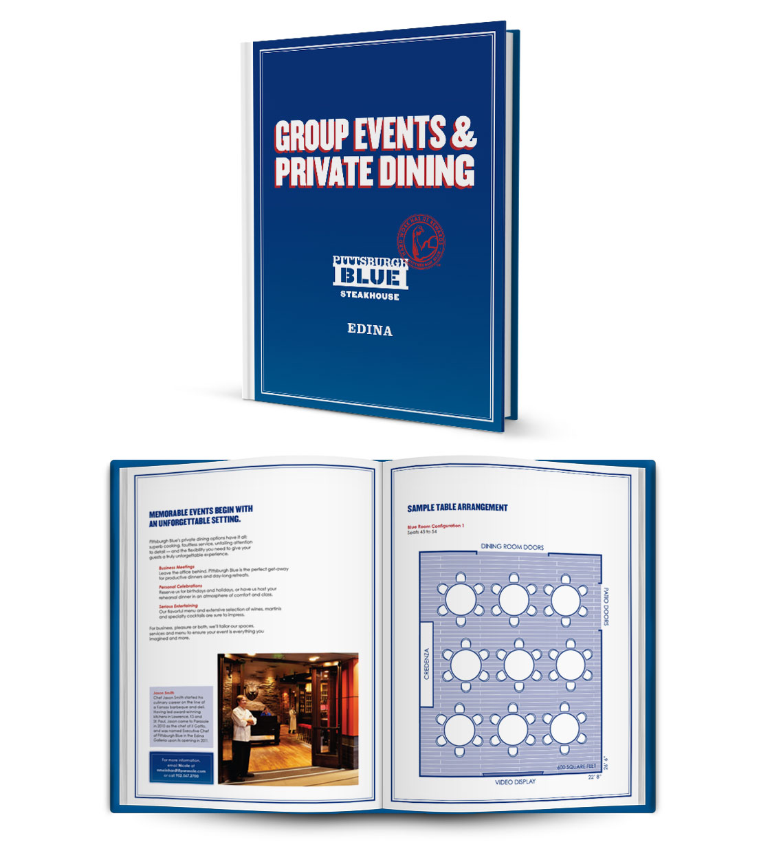 Pittsburgh Blue Private Dining Guide