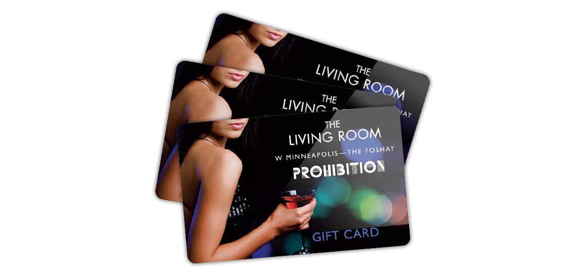 The Living Room and Prohibition Cards