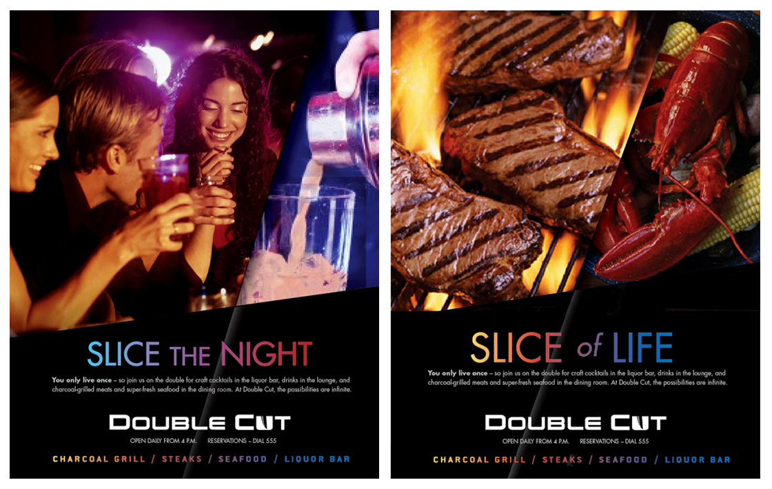 Double Cut Poster