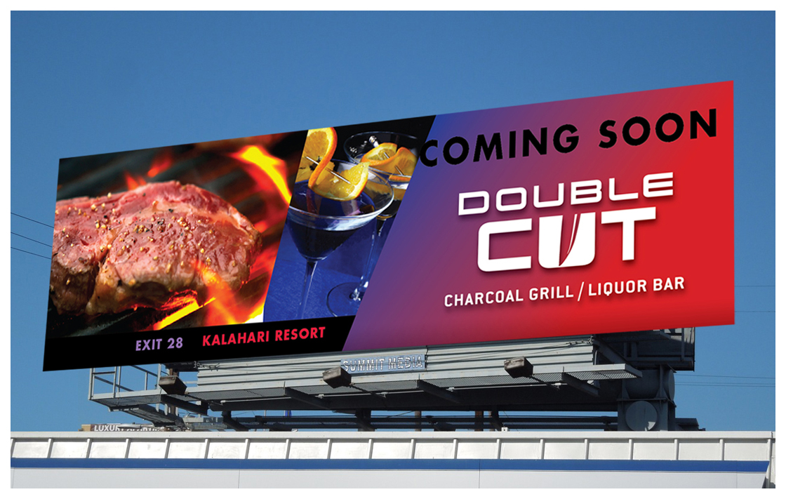 Double Cut Billboard