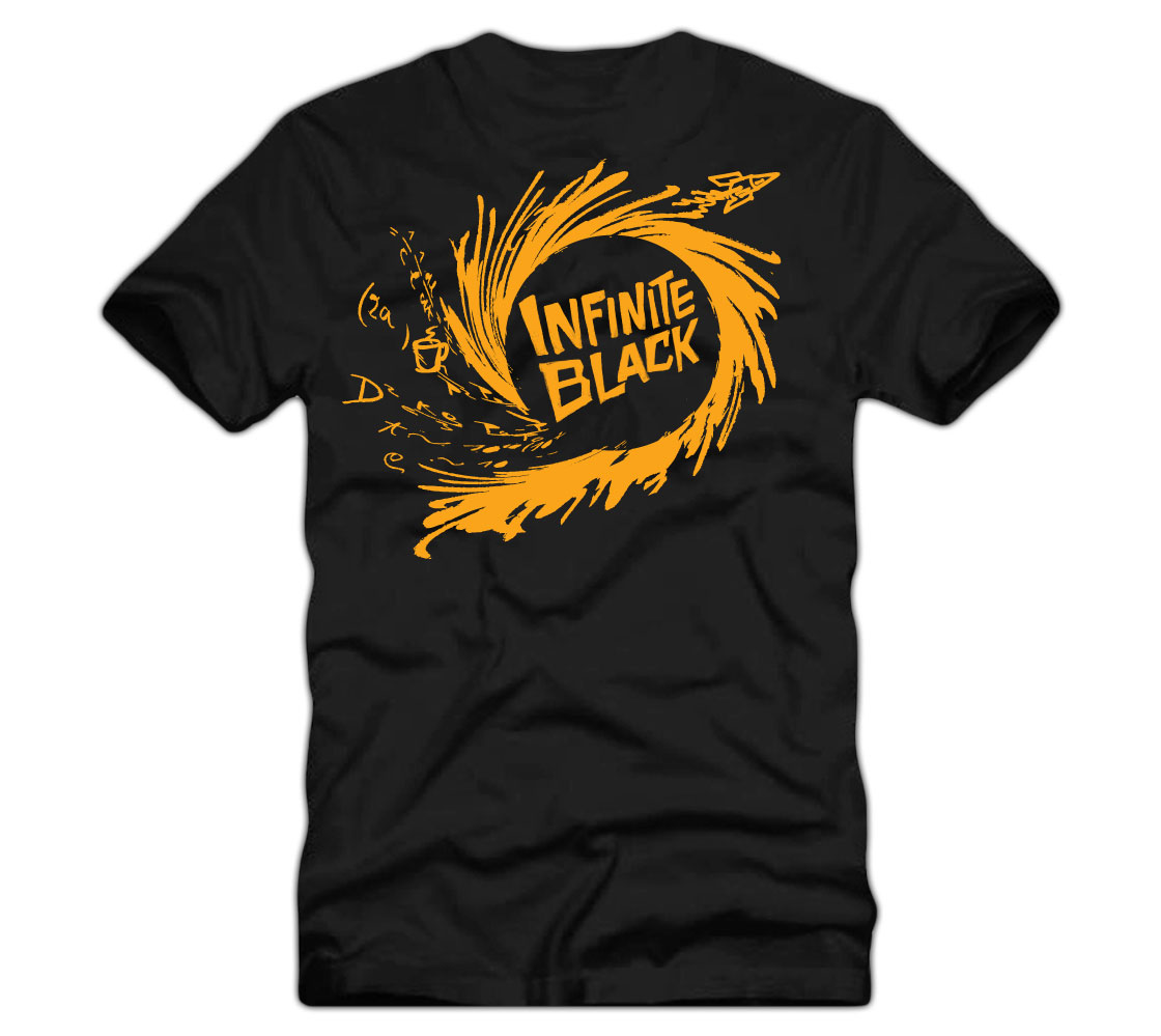 Dunn Brothers Infinite Black T-Shirt