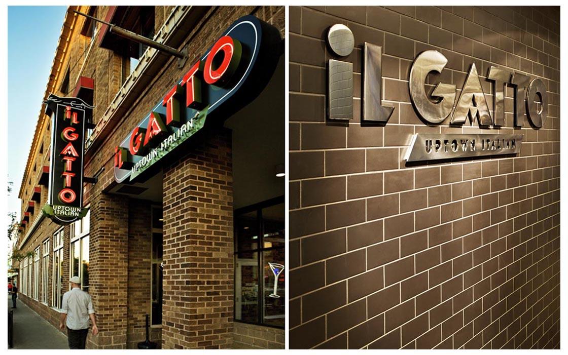 iL Gatto Signs