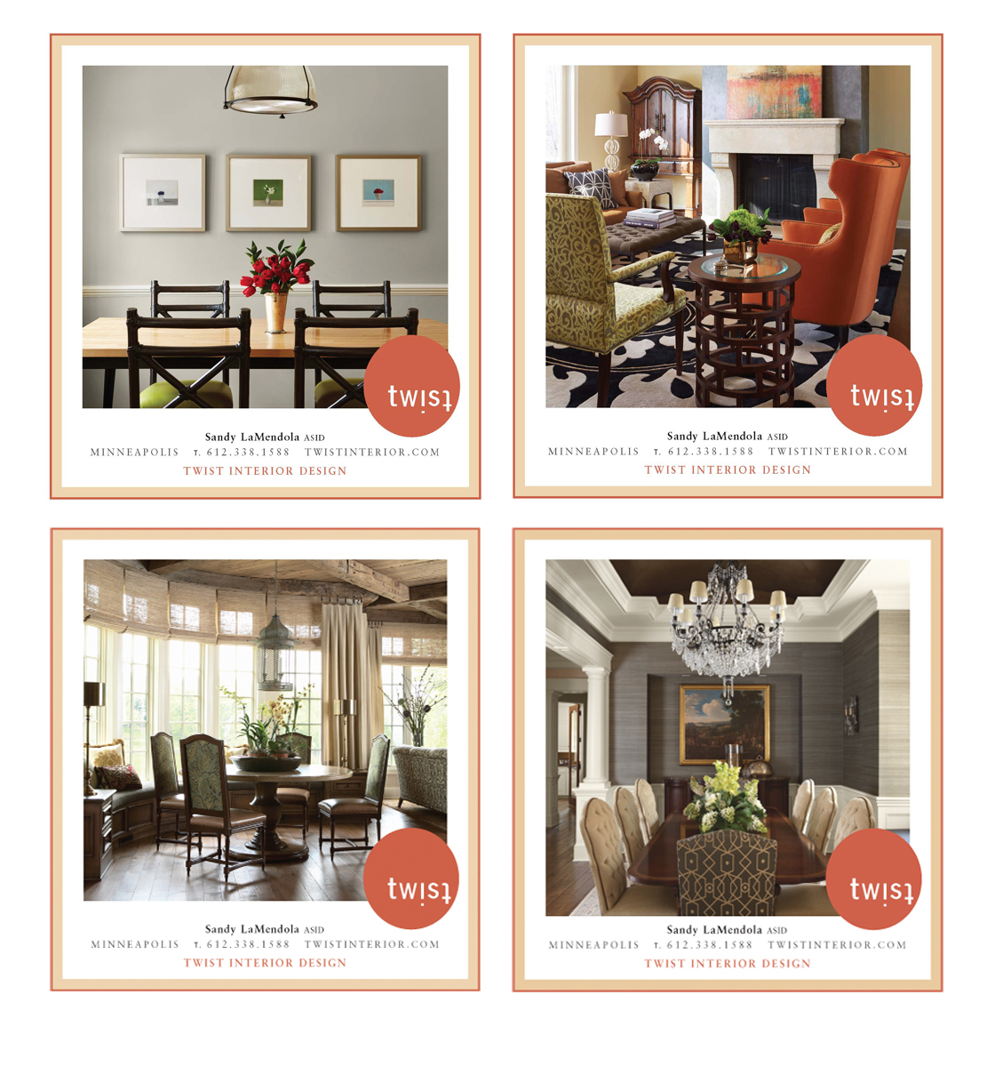Twist Advertises Regularly In A Number Of Lifestyle And Decor Magazines As Well Programs Given To Design Showcase Attendees