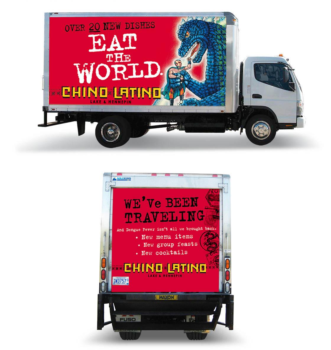 Chino Latino Godzilla Truck