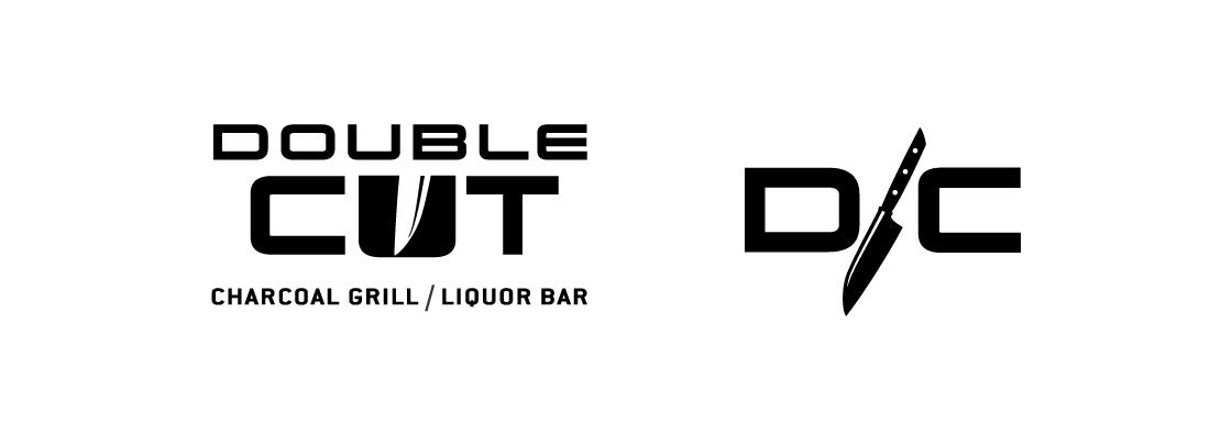 Double Cut Logo