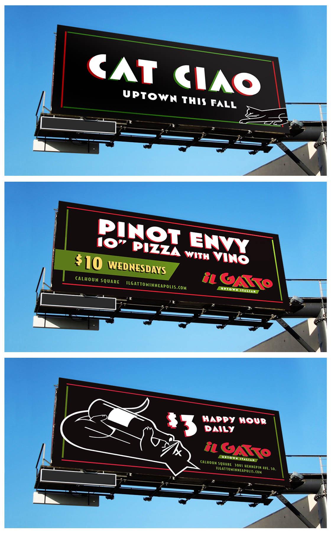 iL Gatto Billboard