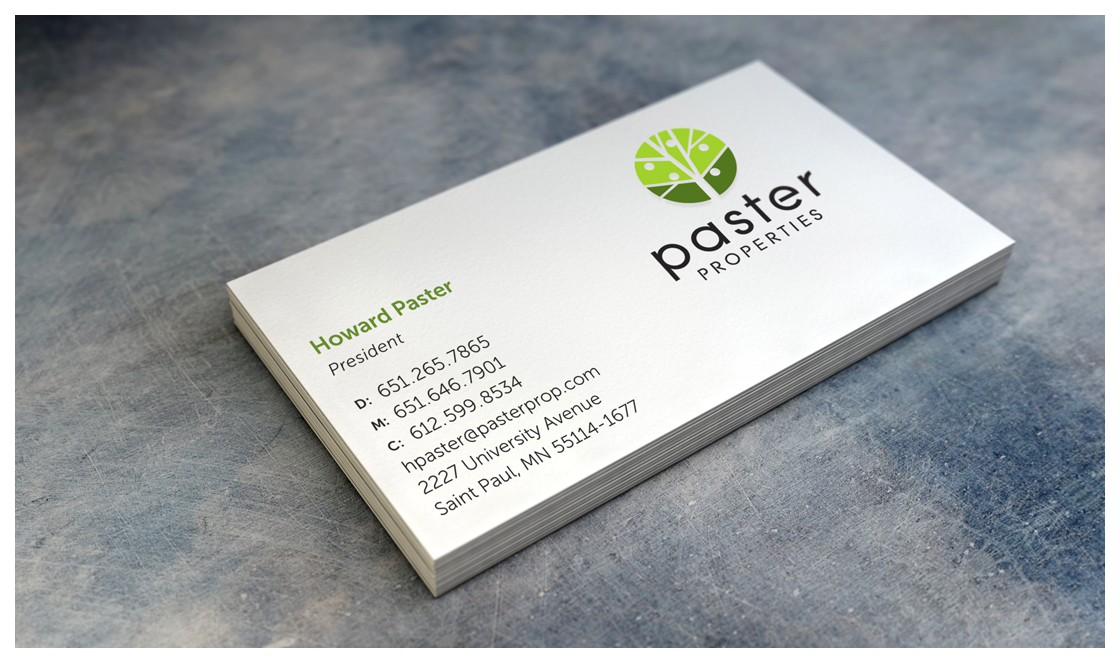 Paster Business Card