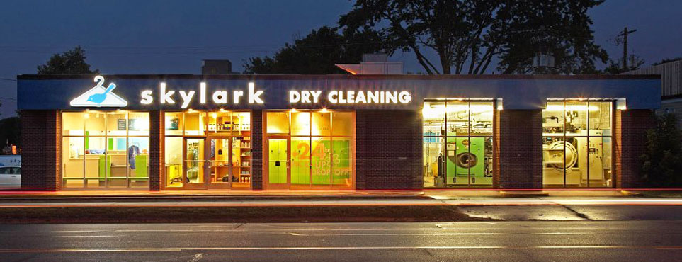 Skylark Cleaners Store Front