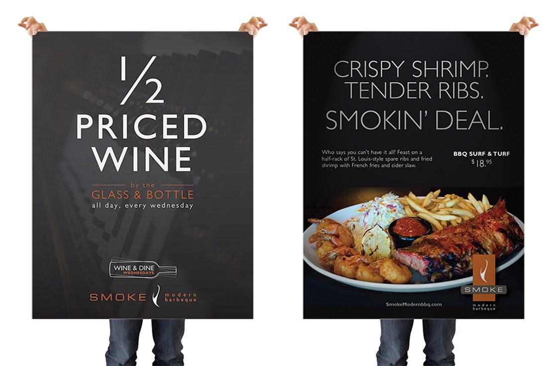 smoke-modern-bbq-poster-design