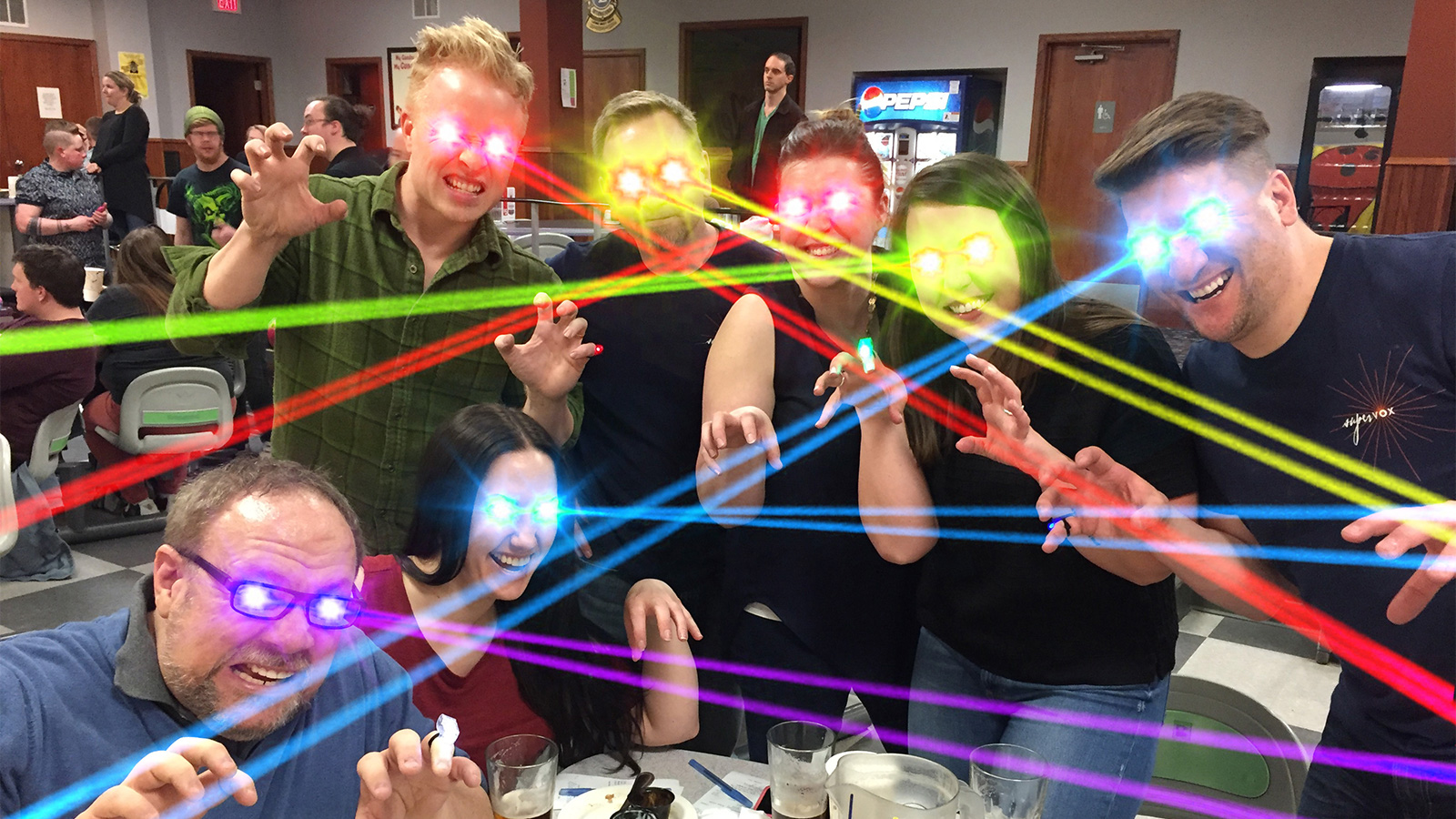 Supervox Agency Bowling Team - LazerCats