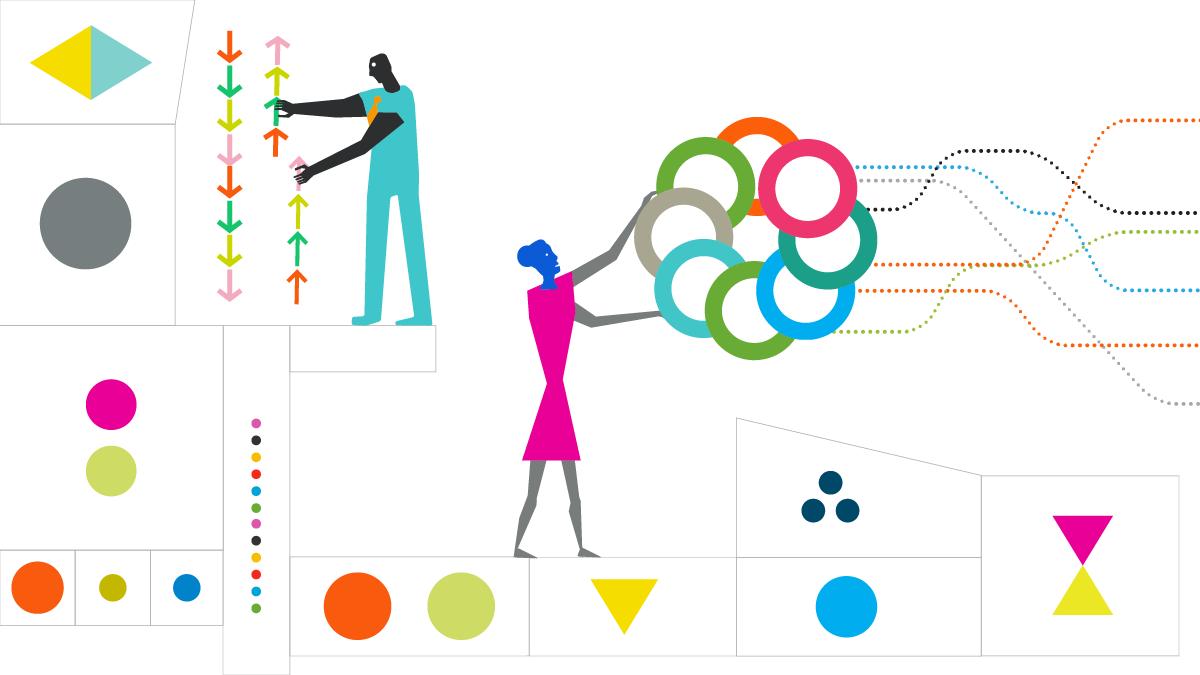 Supervox Agency Website Planning and Process Illustration